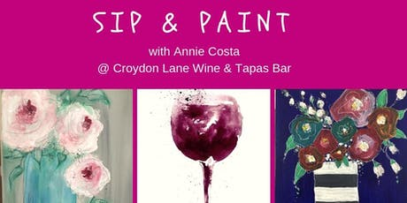Sip & Paint tickets