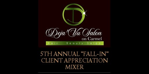 "5TH ANNUAL ""FALL-IN"" CLIENT APPRECIATION MIXER"