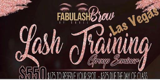 Las Vegas  Eyelash Extension Workshop+Business Branding
