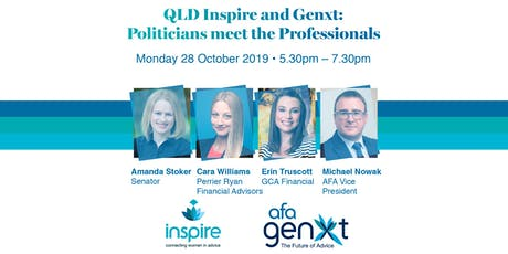 QLD Inspire and Genxt: Politicians meet the Professionals tickets