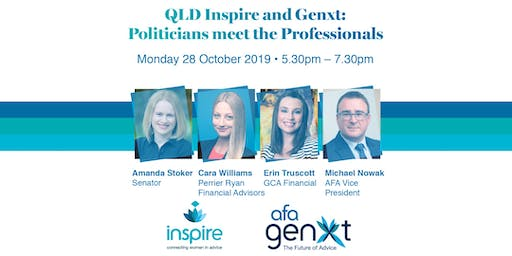 QLD Inspire and Genxt: Politicians meet the Professionals