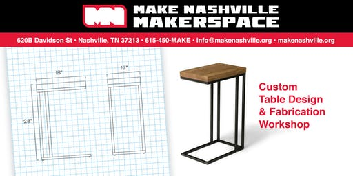 Table Design & Fabrication Class