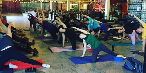 Flowing on Hops- Yoga at 21st Amendment Brewery
