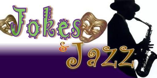 """JOKES & JAZZ 12""  (National Comedians & Jazz Music)"