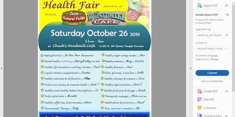 Free Health Fair at Chuck's in Temple Terrace tickets