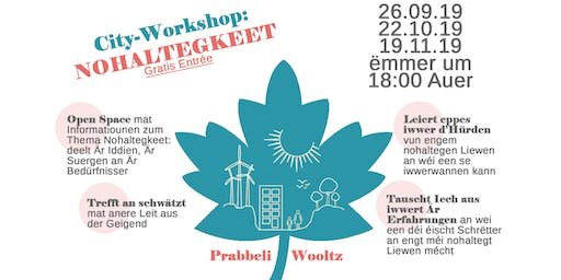 City Workshop Wiltz - Nohaltegkeet