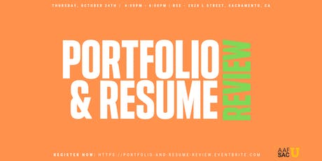 Portfolio & Resume Review tickets