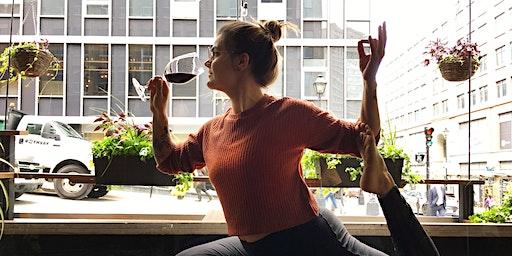 Wine Yoga With Véro!