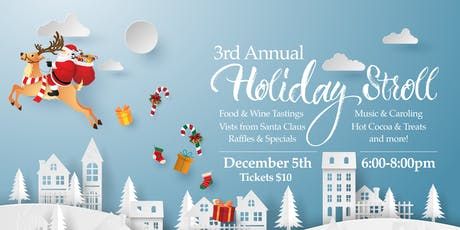 3rd Annual Downtown North Attleborough Holiday Stroll tickets