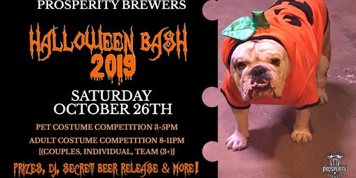 Prosperity Brewers Halloween Bash 2019