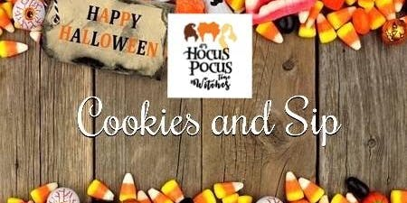 Cookies and Sip - Oct 19(PM)
