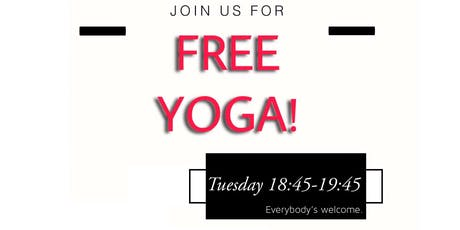 FREE YOGA tickets
