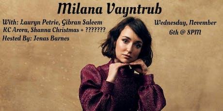 The Headliner Series NYC: Milana Vayntrub tickets