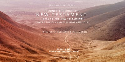 TRIBE MINISTRY SCHOOL  Journey through the New Testament