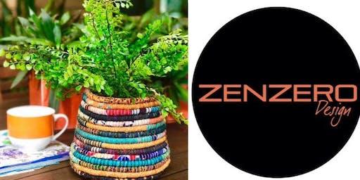 #imadeitmyself  -  Coiled baskets with Zenzero Design