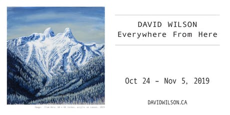 Everywhere From Here - Exhibition Opening tickets