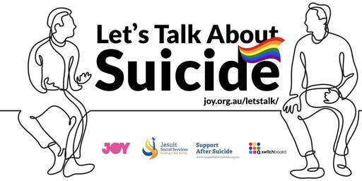 Let's Talk About Suicide Podcast Launch Event
