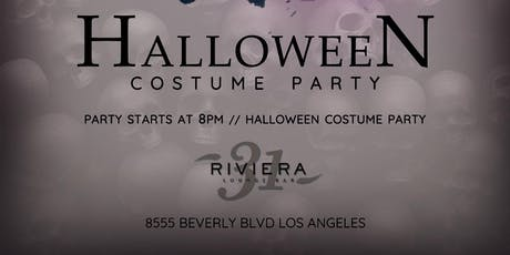 Halloween Costume Ball @ Riviera 31 inside The Sofitel Hotel Beverly Hills tickets