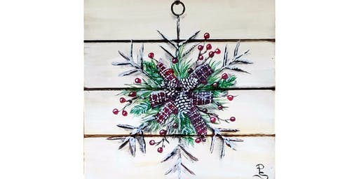 11/20 - Berry Snowflake on Wood @ Nectar Catering and Events, Spokane