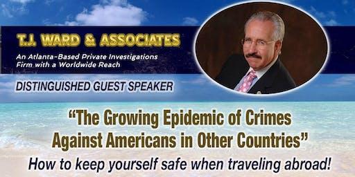 Private Investigator T.J. Ward, Distinguished Guest Speaker