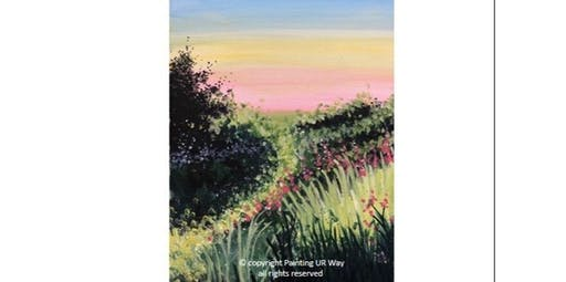 2 Hour Painting Class - Flowers in the Pasture (2019-11-16 starts at 7:00 PM)
