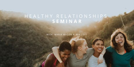 TRIBE MINISTRY SCHOOL | Healthy Relationships Seminar tickets
