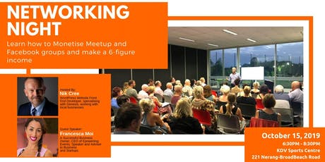 15th Gold Coast Networking Night: Come Along And Join Like-Minded Business Owners tickets