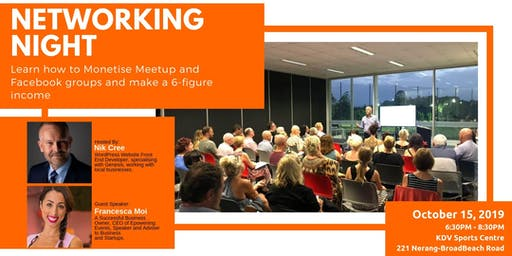 15th Gold Coast Networking Night: Come Along And Join Like-Minded Business Owners