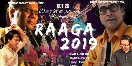 Raaga Festival 2019 tickets