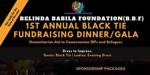 BBF 1st Annual Black Tie Fundraising Event.