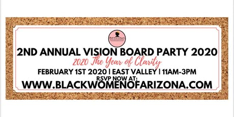 BWAZ 2nd Annual Vision Board Party 2020 tickets