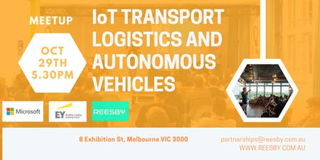 Microsoft, EY,Reesby: IoT Transport Logistics and Autonomous Vehicles Panel tickets