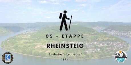 Sportliche Herbstwanderung auf dem Rheinsteig - 25 km Tickets