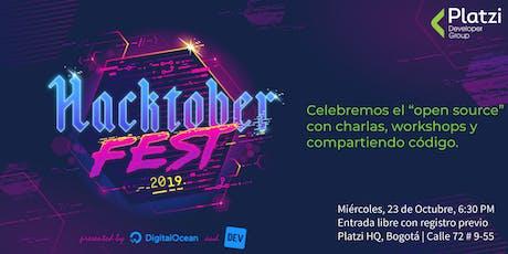 Hacktoberfest 2019 Bogotá tickets