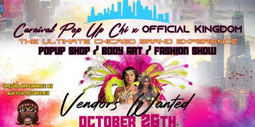 Carnival Pop Up Chi x Official Kingdom Pop Up Shop Body Art Fashion Show