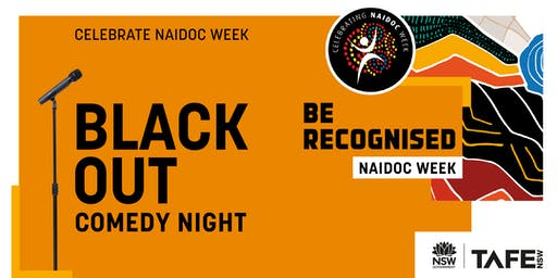 Black Out Comedy Night