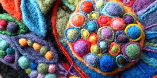 """Fast Felting"" - Intro to Needle Felting (CraftAlive)"