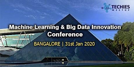 Machine Learning & Bigdata Innovation Conference-Bangalore tickets