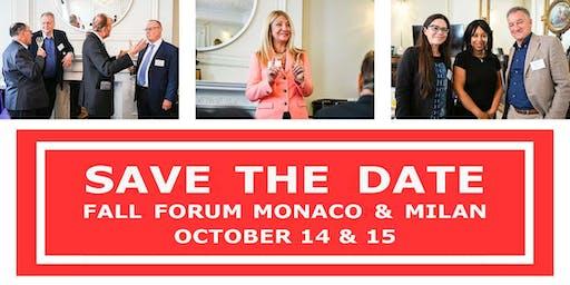 Swiss Growth Forum Fall Edition 2019 in Monaco
