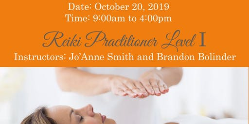 REIKI LEVEL I CERTIFICATION WITH SALT LAKE MEDIUM, JO'ANNE SMITH & BRANDON BOLINDER REIKI MASTERS/TEACHERS