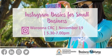 Instagram Basics for Small Business tickets