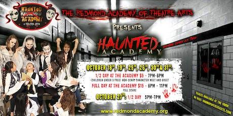 Haunted Academy tickets