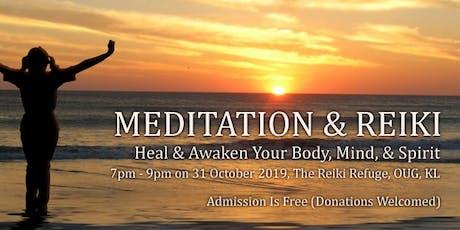 Free Meditation & Reiki Session In KL tickets
