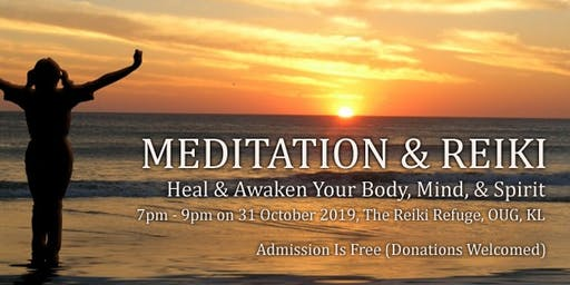 Free Meditation & Reiki Session In KL