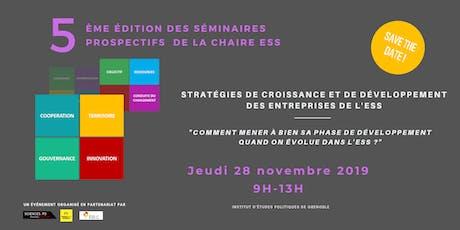 Stratégies de croissance et de développement des entreprises de l'ESS billets