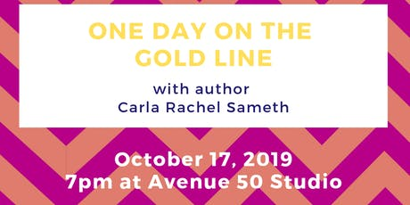 One Day on the Gold Line: A Book Celebration tickets