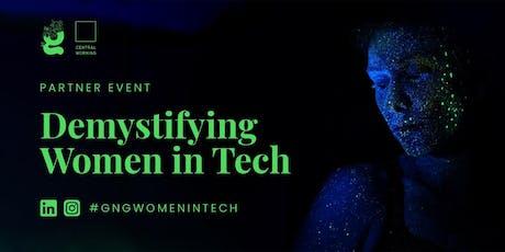Power Hour: Demystifying Women in Tech tickets
