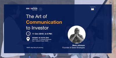 The Art of Communication to Investor