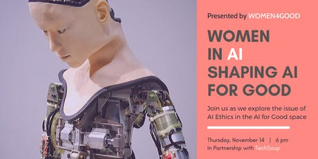 Women in AI: Shaping AI for Good tickets