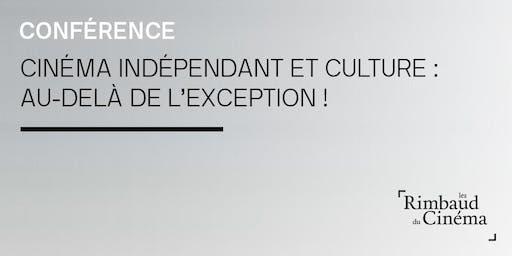 Rimbaud du cinéma à Charleroi - débat sur l'exception culturelle
